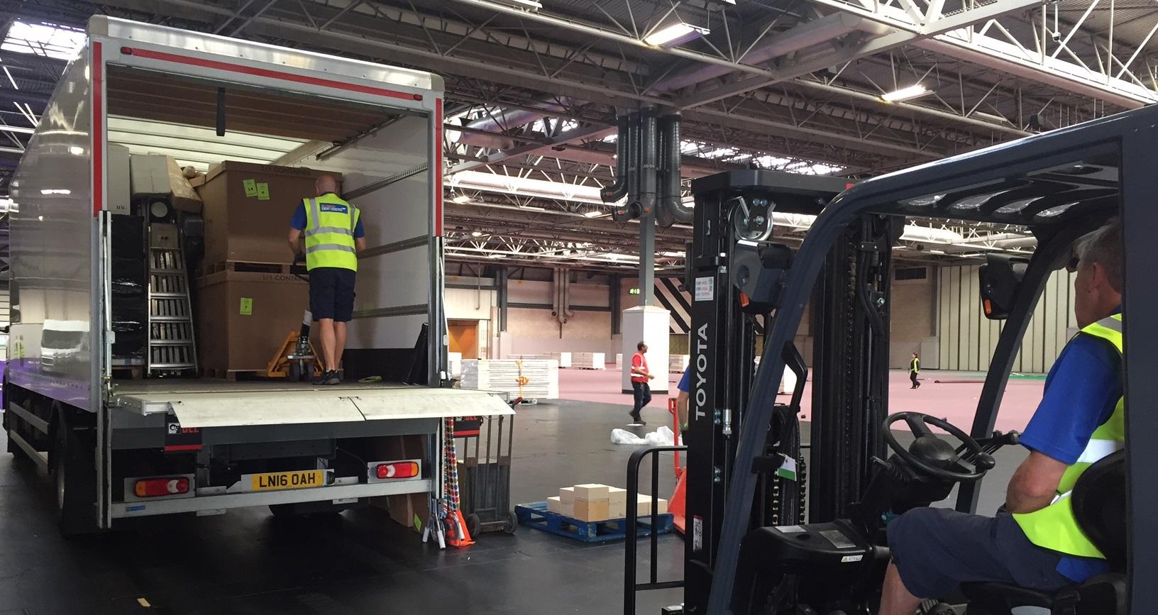 Bill Bowden Event Logistics London
