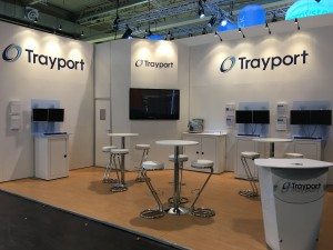 Trayport conference stand design and build by Bill Bowden Event Logistics435