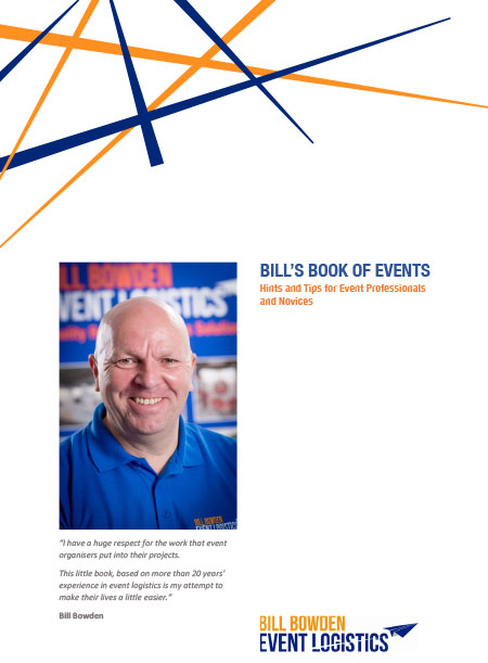 Bills Book of Events - Hints and Tips for Event Professionals and Novices