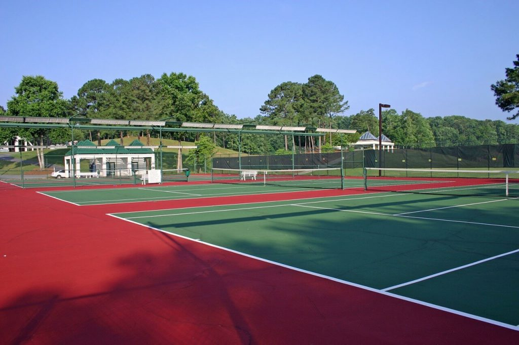 Tennis Courts in Georgia