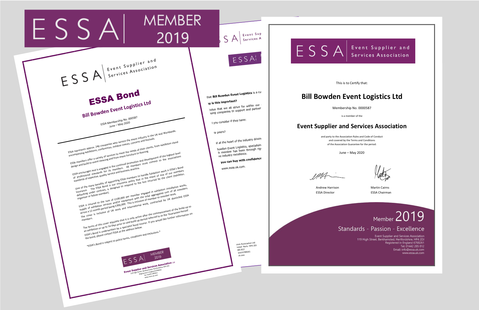ESSA Documentation for BBEL 2019